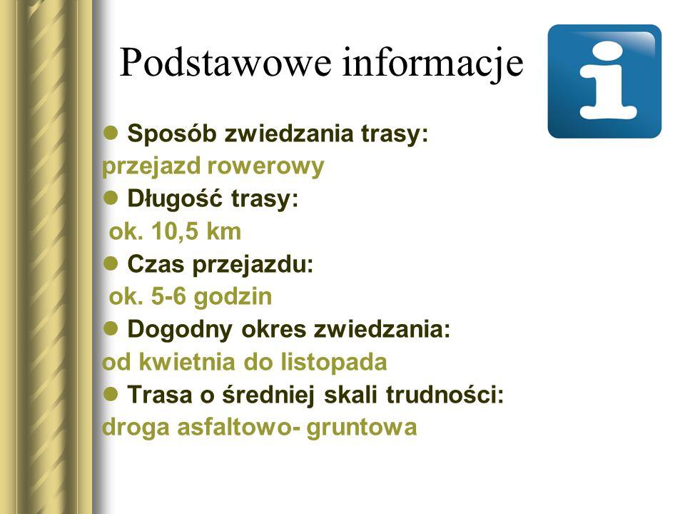 Trasa wycieczki 1.Pałac Wolsztyński.2.Park pałacowy.