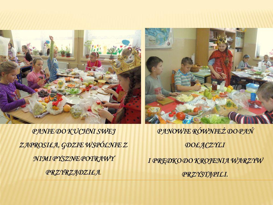 Królewskie menu na stoły wędruje, gdzie pięknie i zdrowo się prezentuje