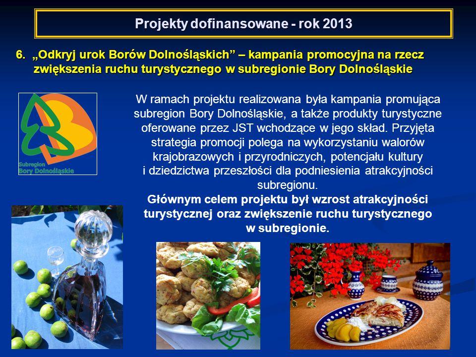 Projekty dofinansowane - rok 2013 6.