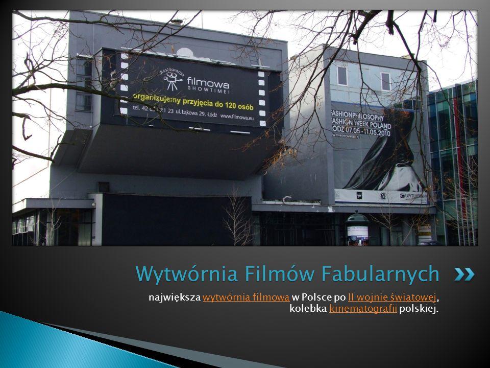 największa wytwórnia filmowa w Polsce po II wojnie światowej, kolebka kinematografii polskiej.wytwórnia filmowaII wojnie światowejkinematografii Wytwórnia Filmów Fabularnych