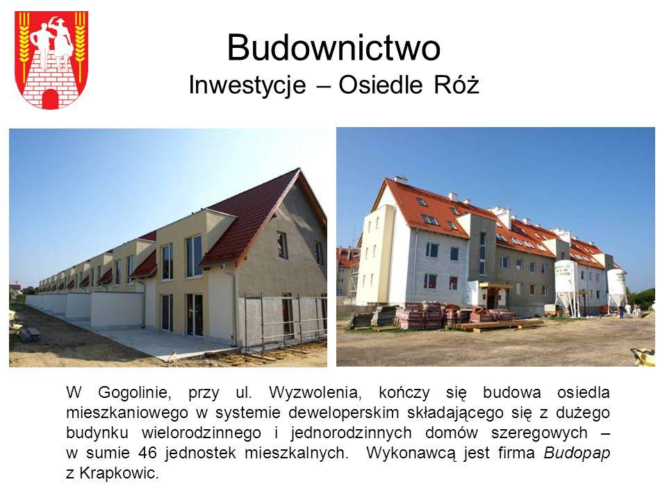 Budownictwo Inwestycje – Osiedle Róż W Gogolinie, przy ul.