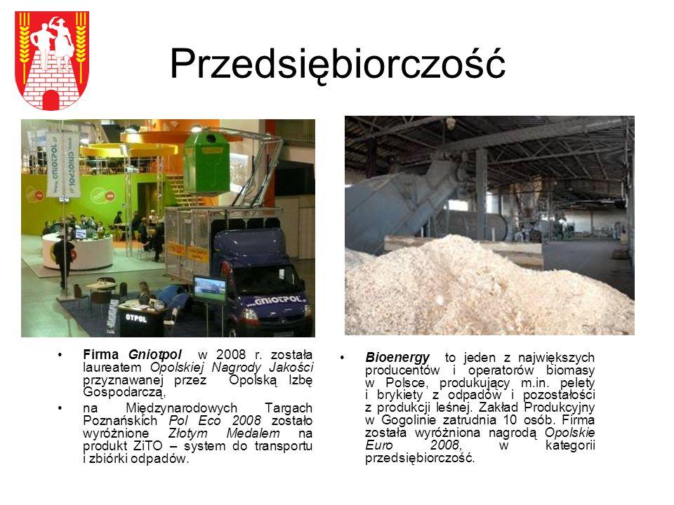 Przedsiębiorczość Firma Gniotpol w 2008 r.