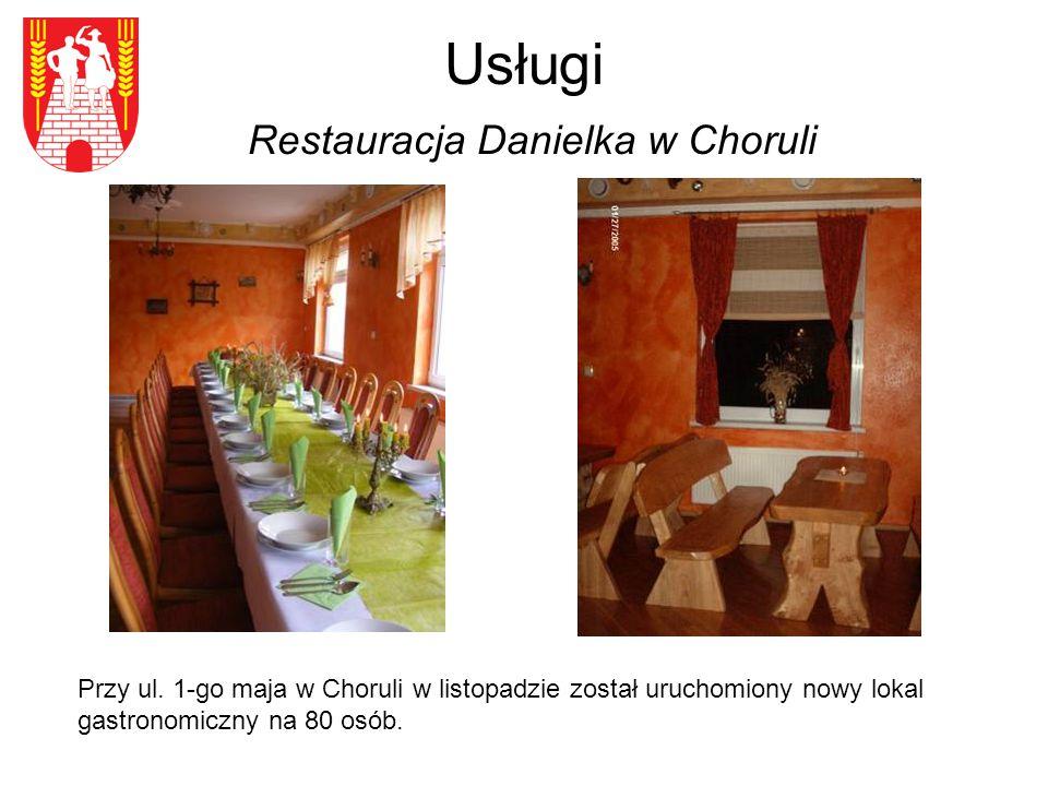 Usługi Restauracja Danielka w Choruli Przy ul.
