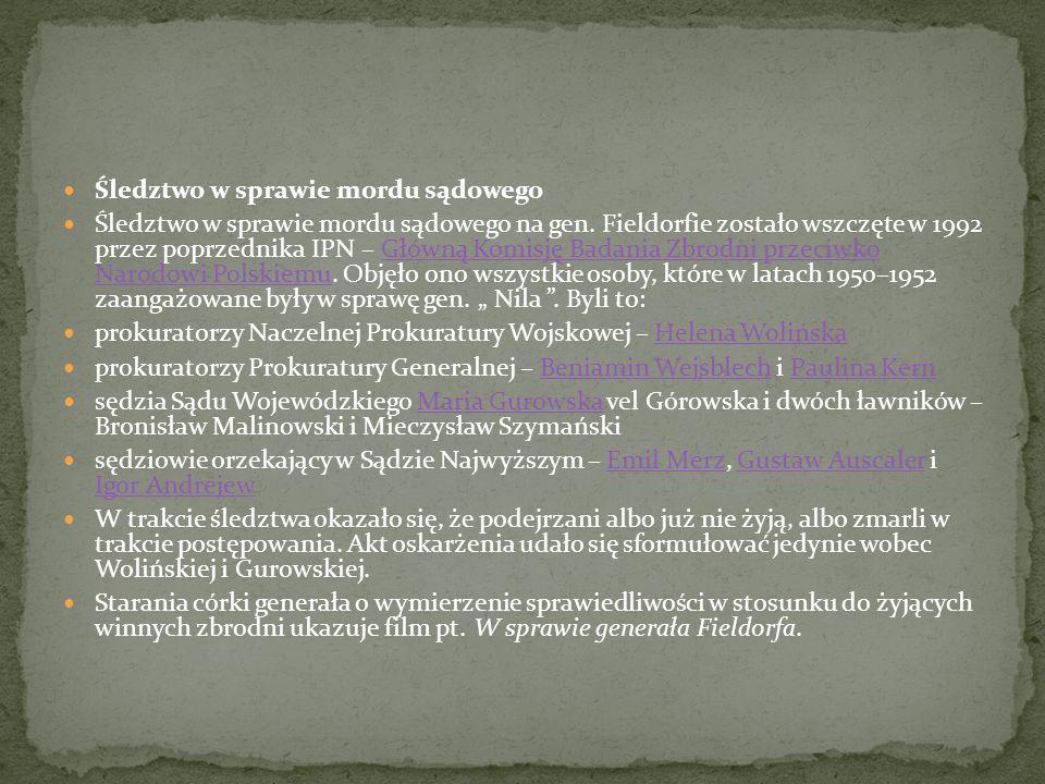 W odpowiedzi na obietnicę amnestii w lutym 1948 zgłosił się do Rejonowej Komendy Uzupełnień w Łodzi i ujawnił, podając prawdziwe imię i nazwisko oraz