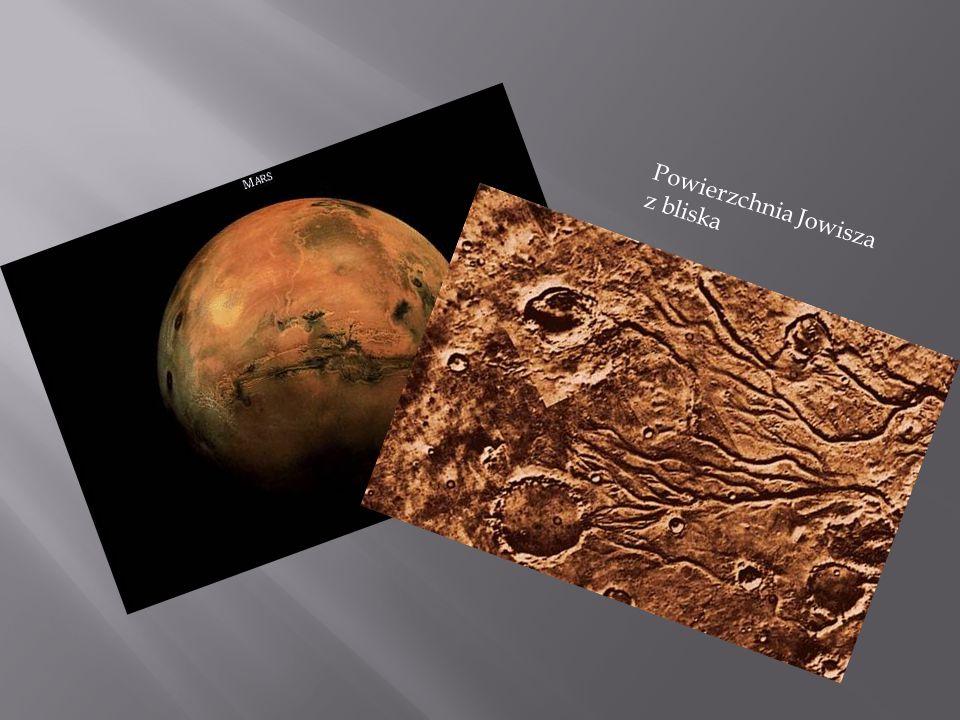 Powierzchnia Jowisza z bliska