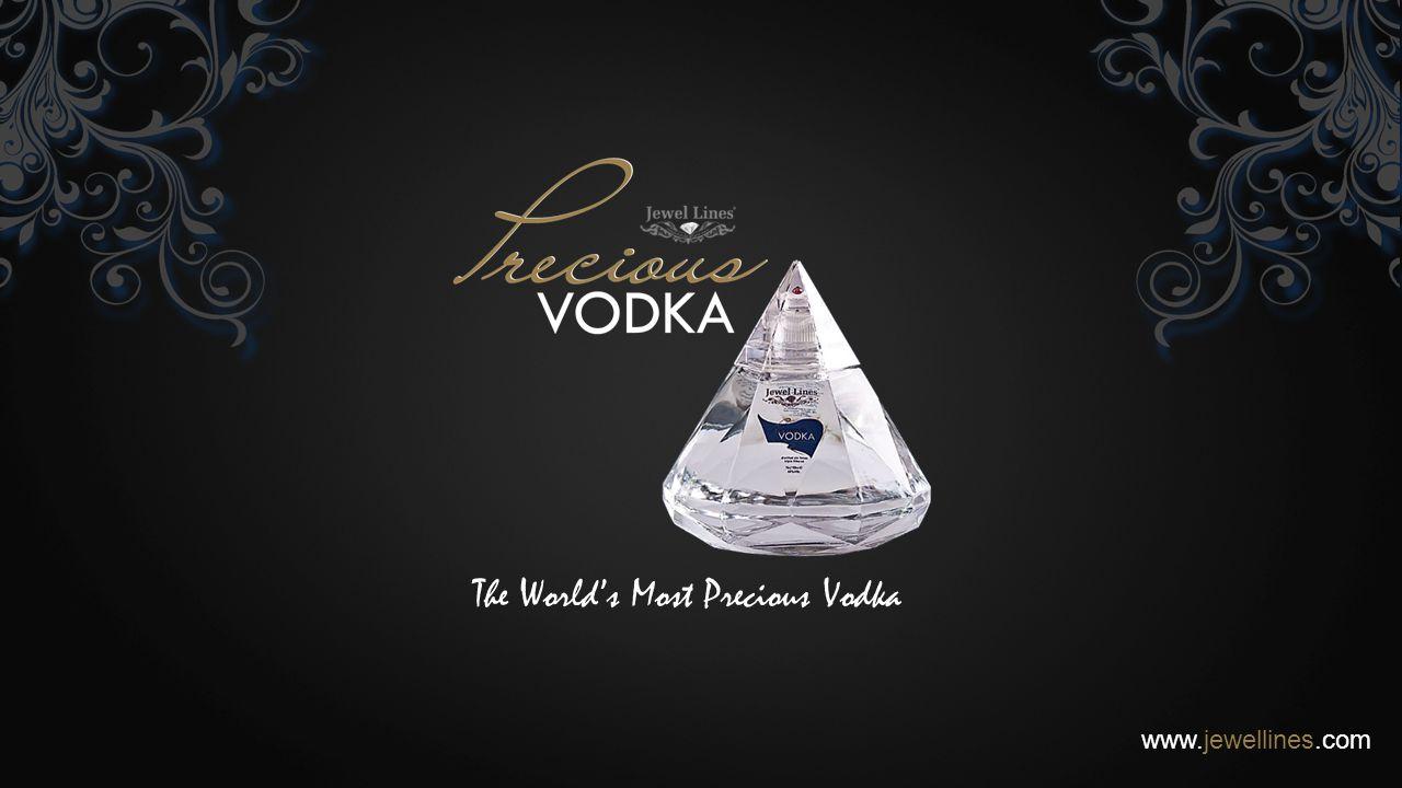The World's Most Precious Vodka www.jewellines.com