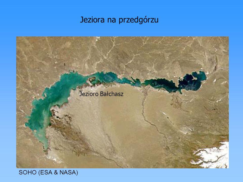Jeziora na przedgórzu Jezioro Bałchasz SOHO (ESA & NASA)