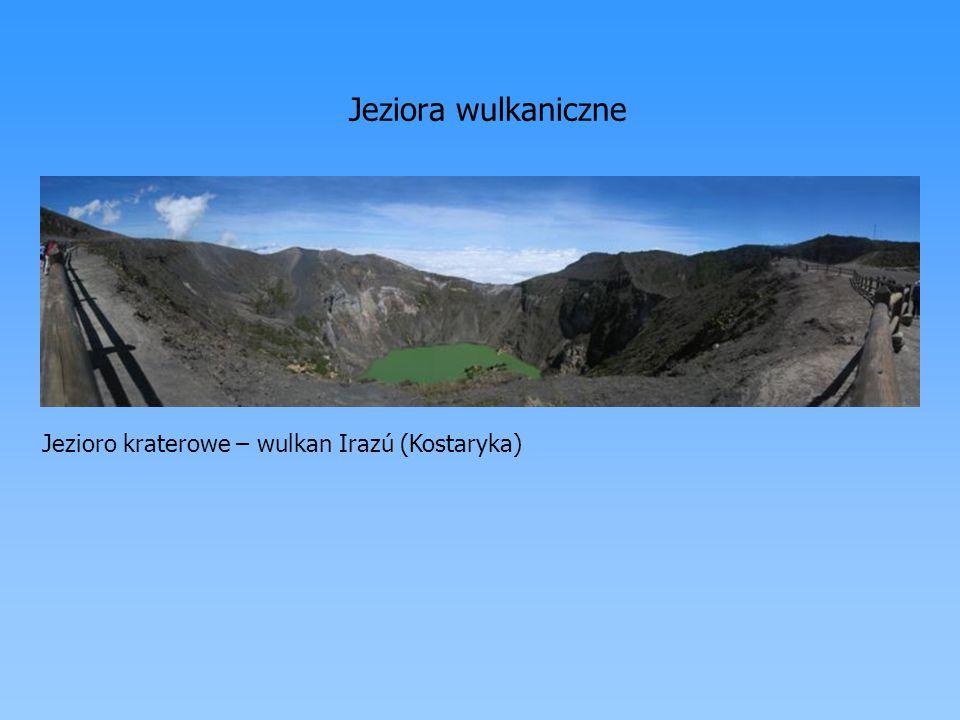 Jeziora wulkaniczne Jezioro kraterowe – wulkan Irazú (Kostaryka)