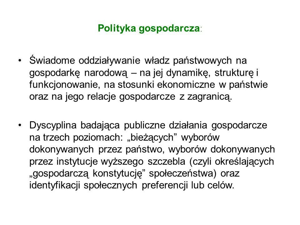Cele polityki edukacyjnej w Polsce: 1.Utrzymanie aspiracji edukacyjnych społeczeństwa.