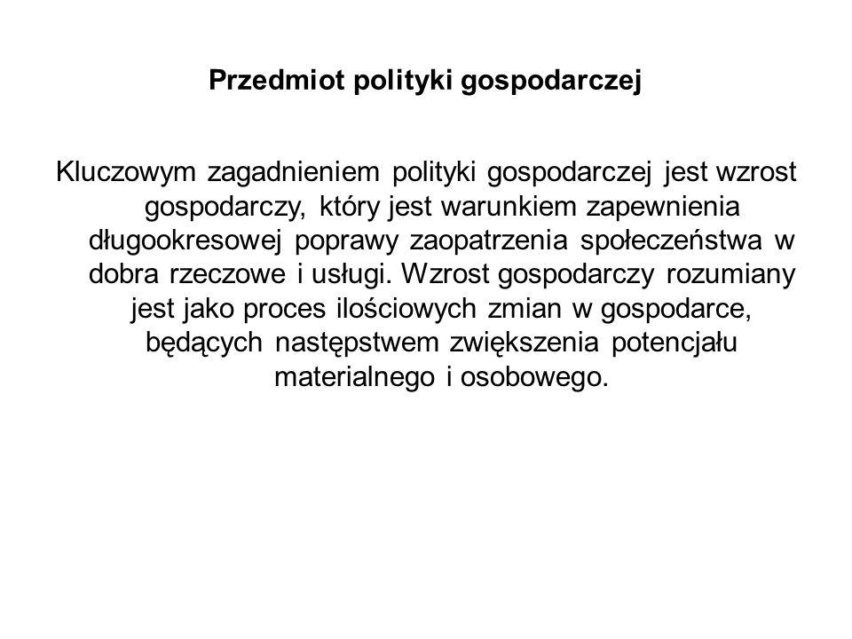 Narzędzia polityki przemysłowej 1.Tradycyjne:  Sektorowe  Horyzontalne 2.