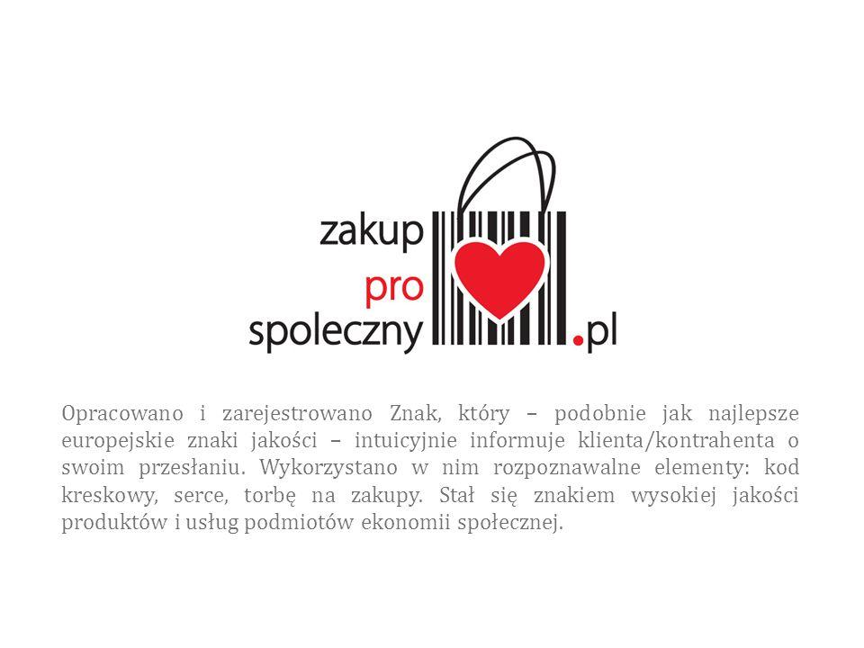 Opracowano i zarejestrowano Znak, który – podobnie jak najlepsze europejskie znaki jakości – intuicyjnie informuje klienta/kontrahenta o swoim przesłaniu.