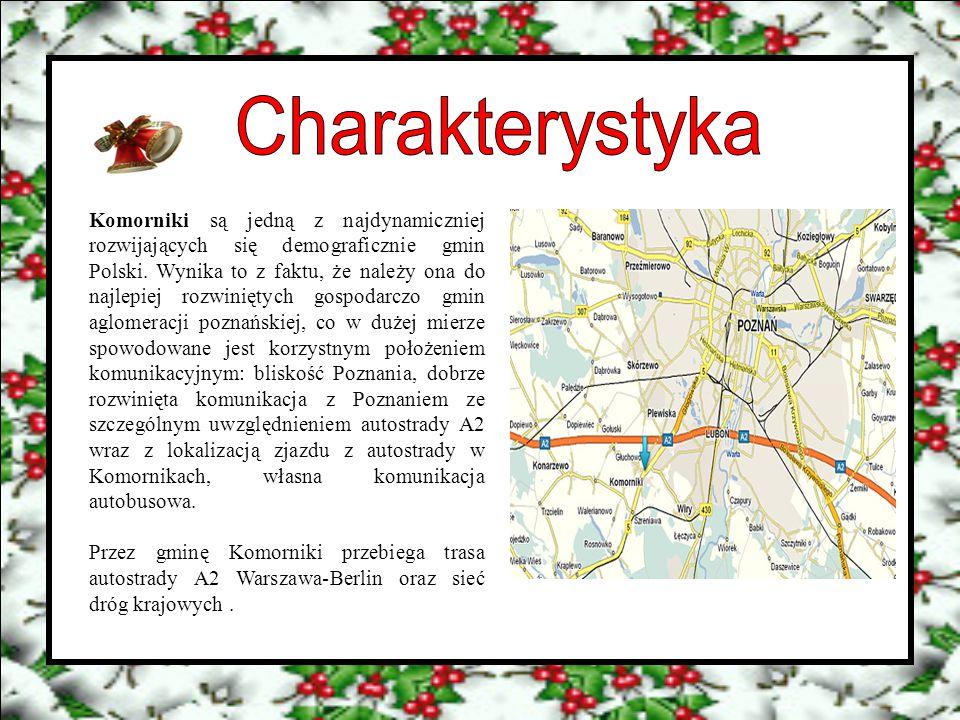 Komorniki są jedną z najdynamiczniej rozwijających się demograficznie gmin Polski. Wynika to z faktu, że należy ona do najlepiej rozwiniętych gospodar