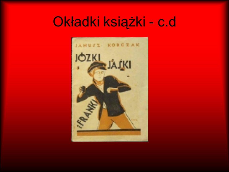 Okładki książki - c.d