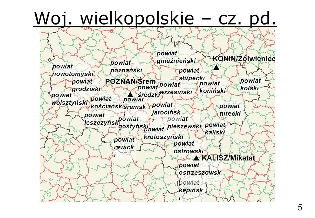 Woj.wielkopolskie – cz. pd.