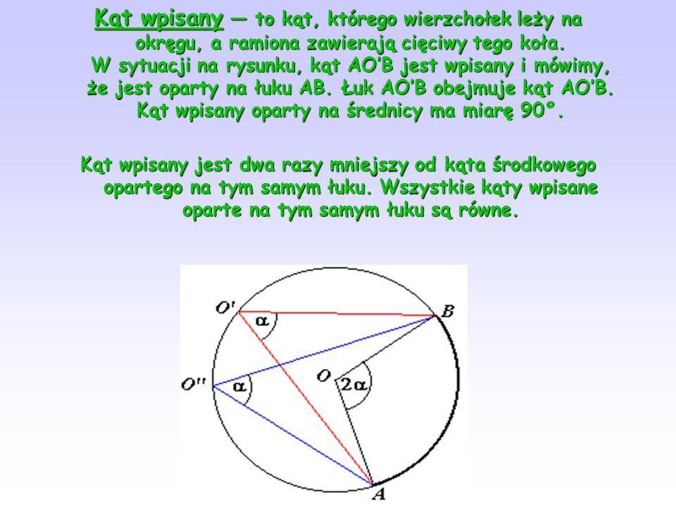 Kąty naprzemianległe — pary kątów utworzonych przez przecięcie dwóch prostych trzecią prostą (sieczną) leżące po przeciwnych stronach siecznej. Na rys