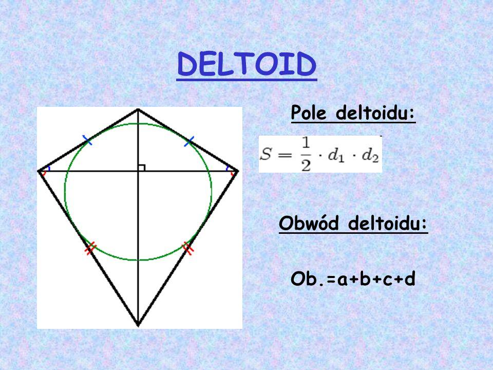 Pole i obwód koła Pole koła Po = π R 2 Obwód okręgu (koła) L = 2 π R