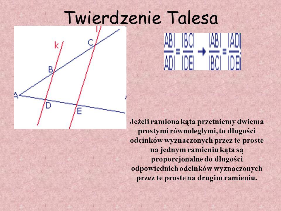 Tales TALES z MILETU (ok. 627 - ok. 546 p.n.e.) Uważany jest za jednego z