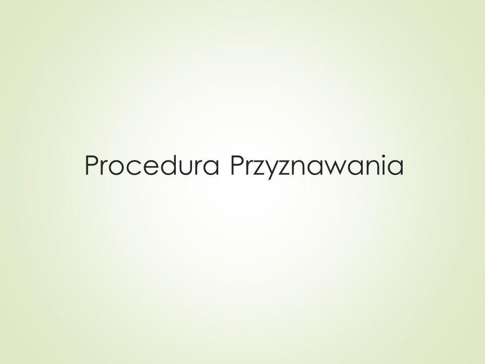 Procedura Przyznawania