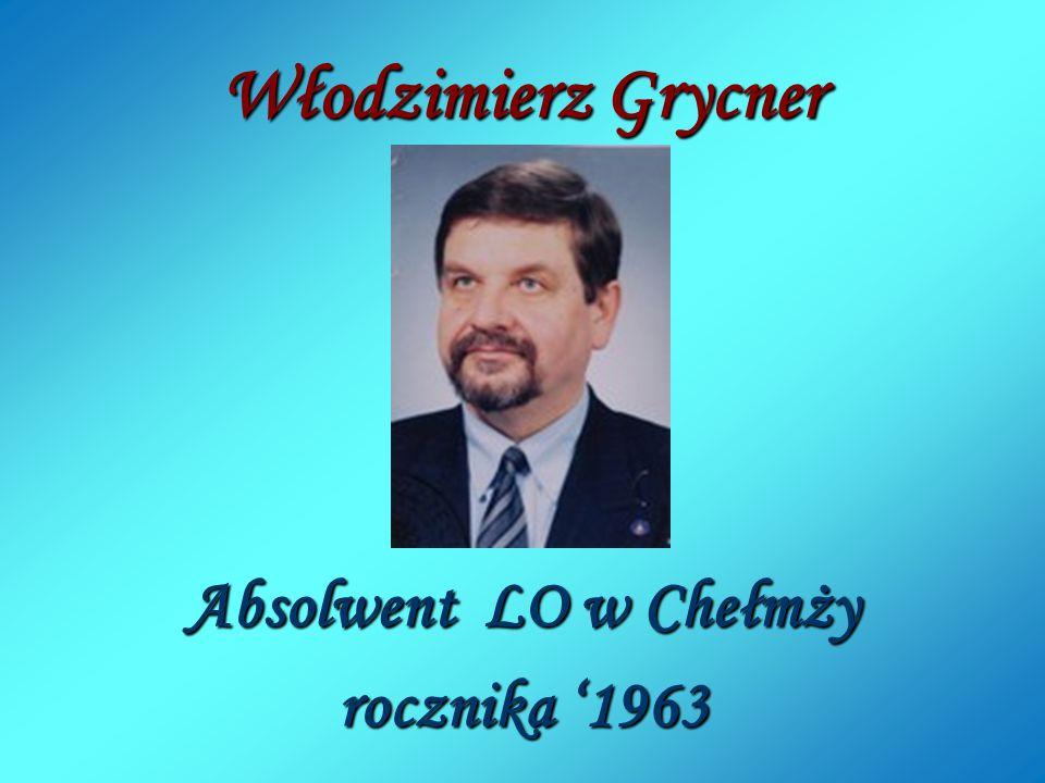 """Certyfikat żelazny Laureata Międzynarodowej Nagrody """"Conrady 2013 Indywidualności Morskie dla Włodzimierza Grycnera."""