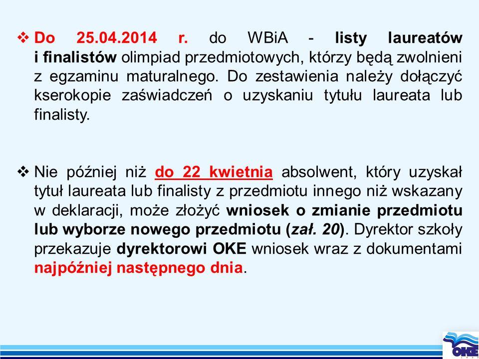  Do 25.04.2014 r.