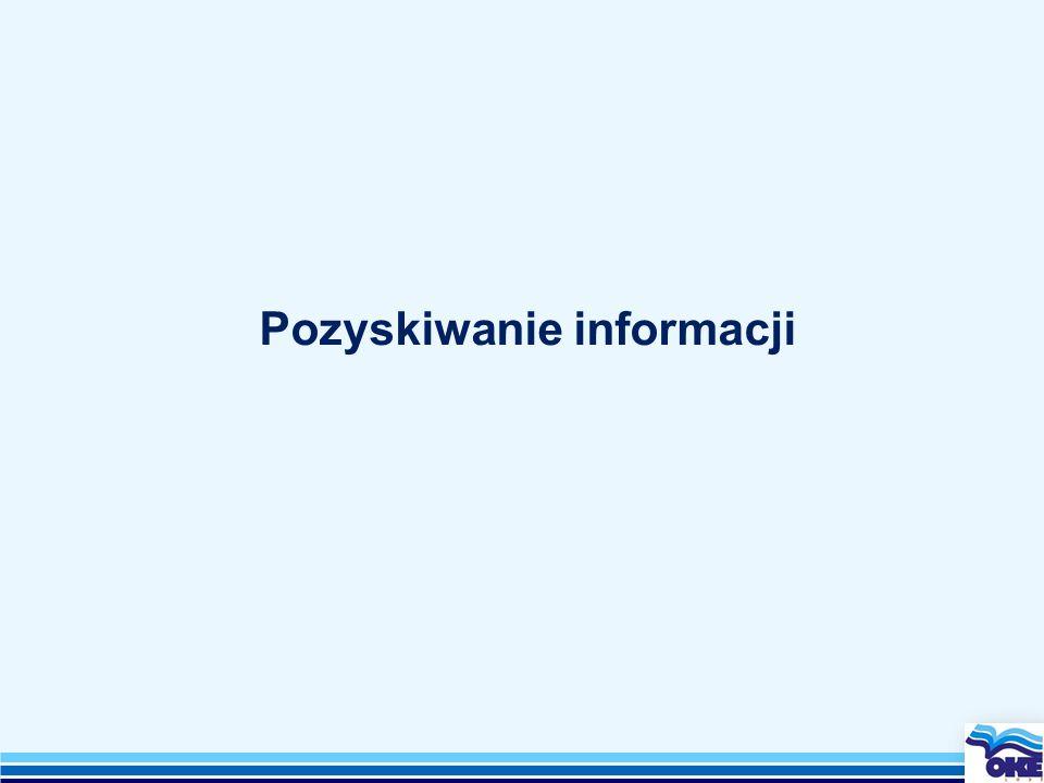 Pozyskiwanie informacji
