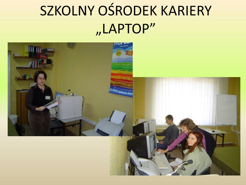 """SZKOLNY OŚRODEK KARIERY """"LAPTOP"""""""