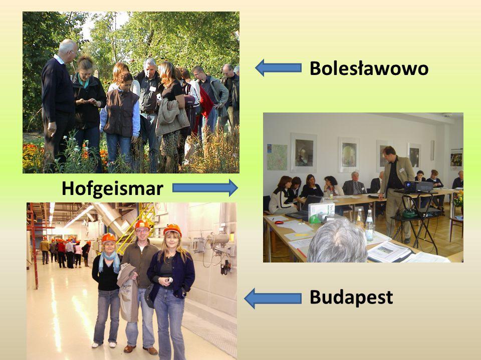 Hofgeismar Bolesławowo Budapest