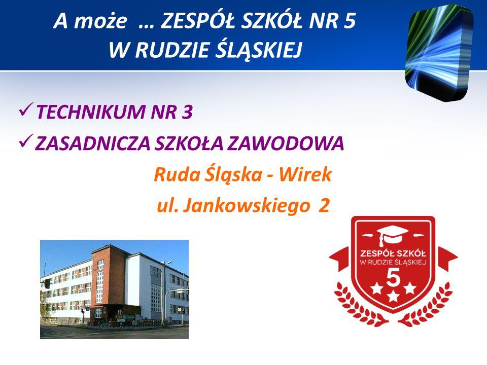 TECHNIKUM NR 3 ZASADNICZA SZKOŁA ZAWODOWA Ruda Śląska - Wirek ul.