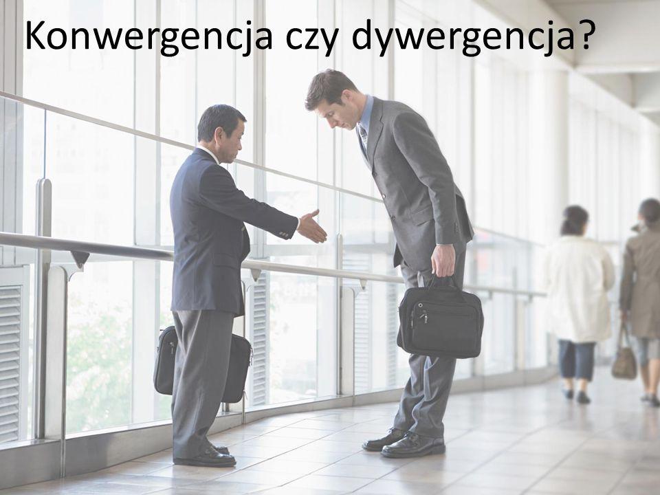 Konwergencja czy dywergencja?