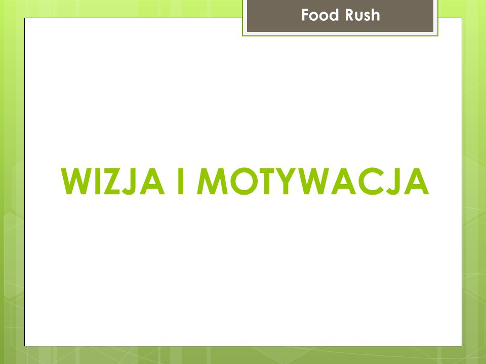 Okno profilu Food Rush Odwiedzone miejsca i znajomi użytkownika Łatwy dostęp do wszystkich odwiedzonych miejsc przez danego użytkownika Lista znajomych danego użytkownika Możliwość wyszukiwania znajomych na podstawie wpisanej frazy