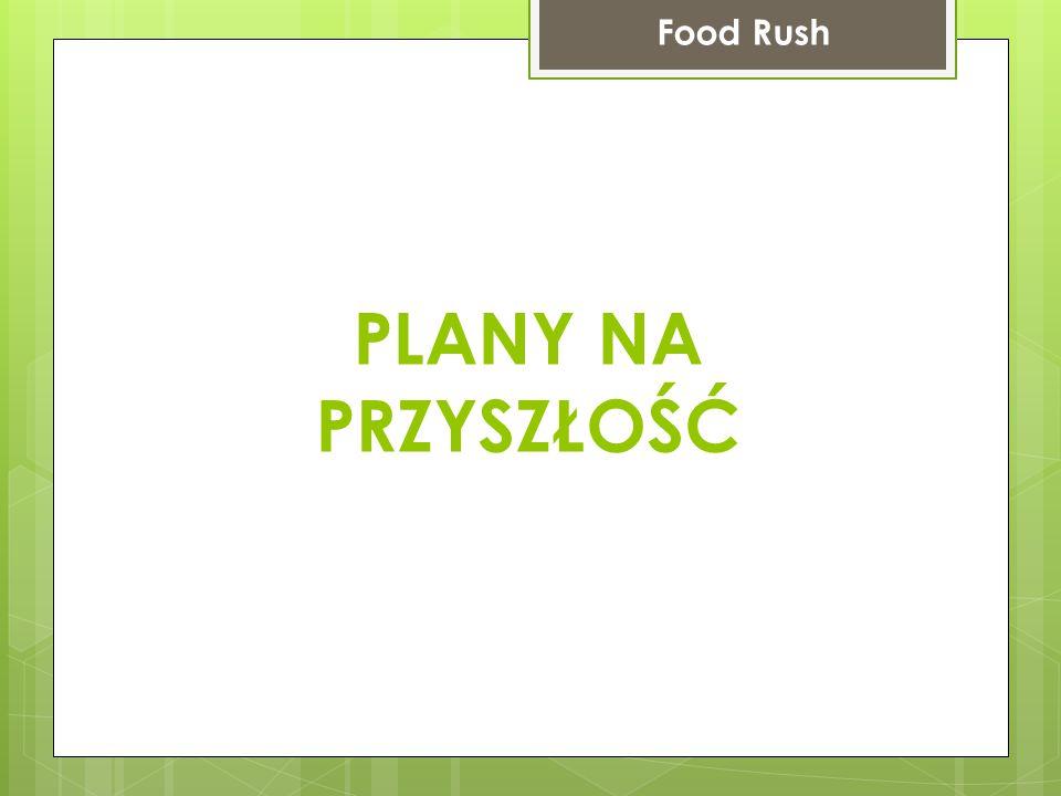 PLANY NA PRZYSZŁOŚĆ Food Rush