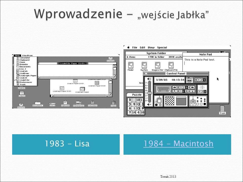 1983 - Lisa1984 - Macintosh Toruń 2013