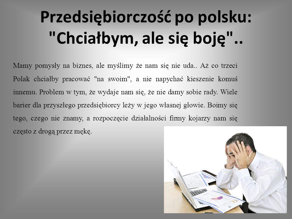 Przedsiębiorczość po polsku: