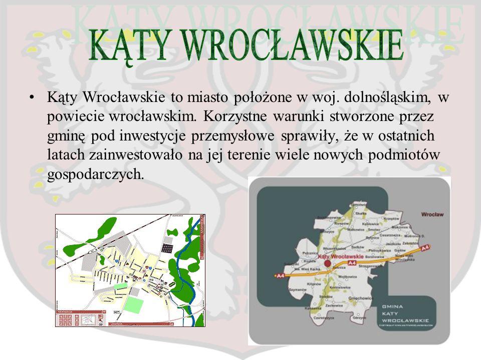 Kąty Wrocławskie to miasto położone w woj. dolnośląskim, w powiecie wrocławskim. Korzystne warunki stworzone przez gminę pod inwestycje przemysłowe sp