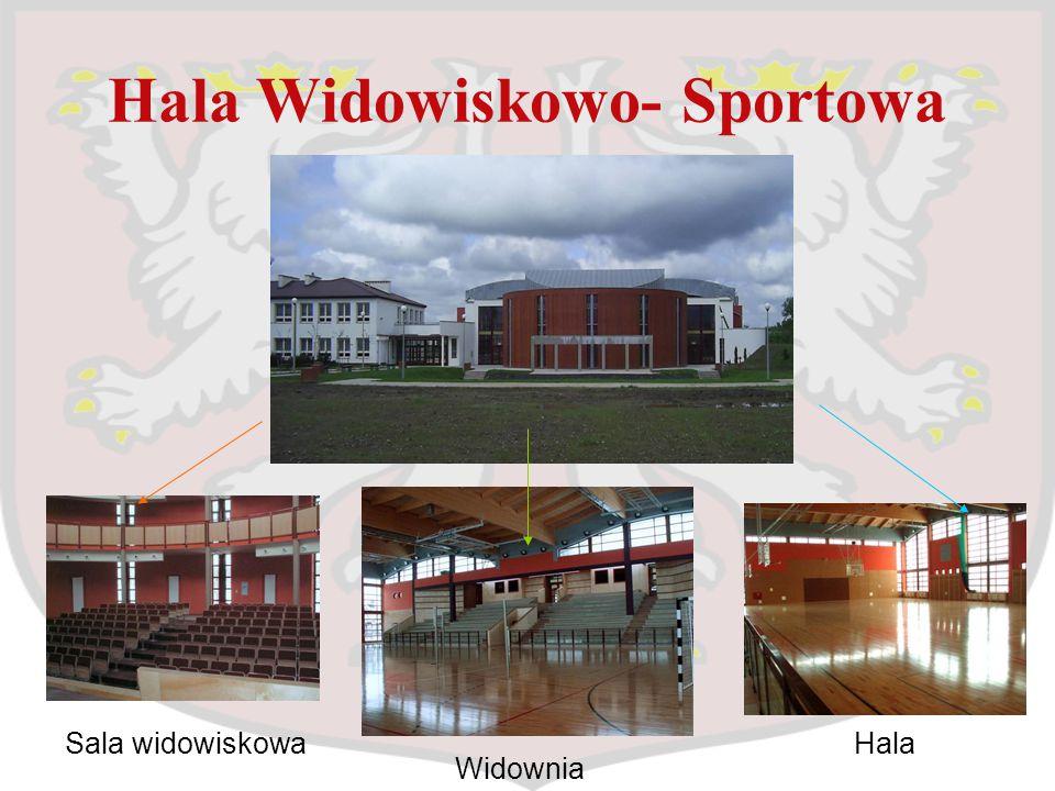Hala Widowiskowo- Sportowa Sala widowiskowa Widownia Hala