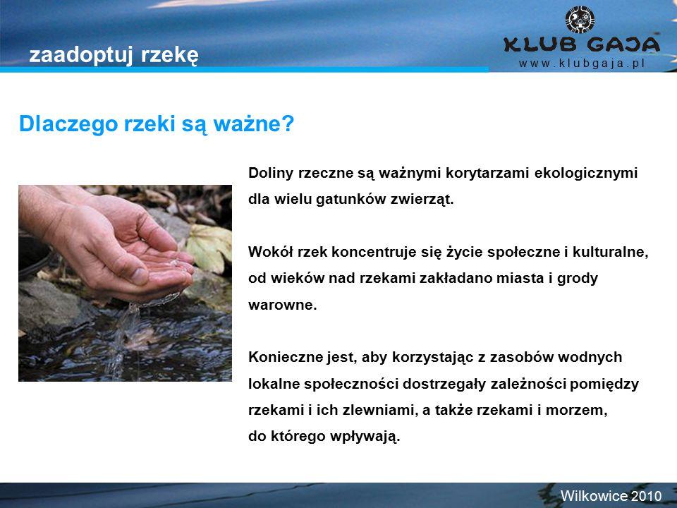 """1994 Klub Gaja rozpoczyna Ogólnopolską Kampanię """"Teraz Wisła ."""