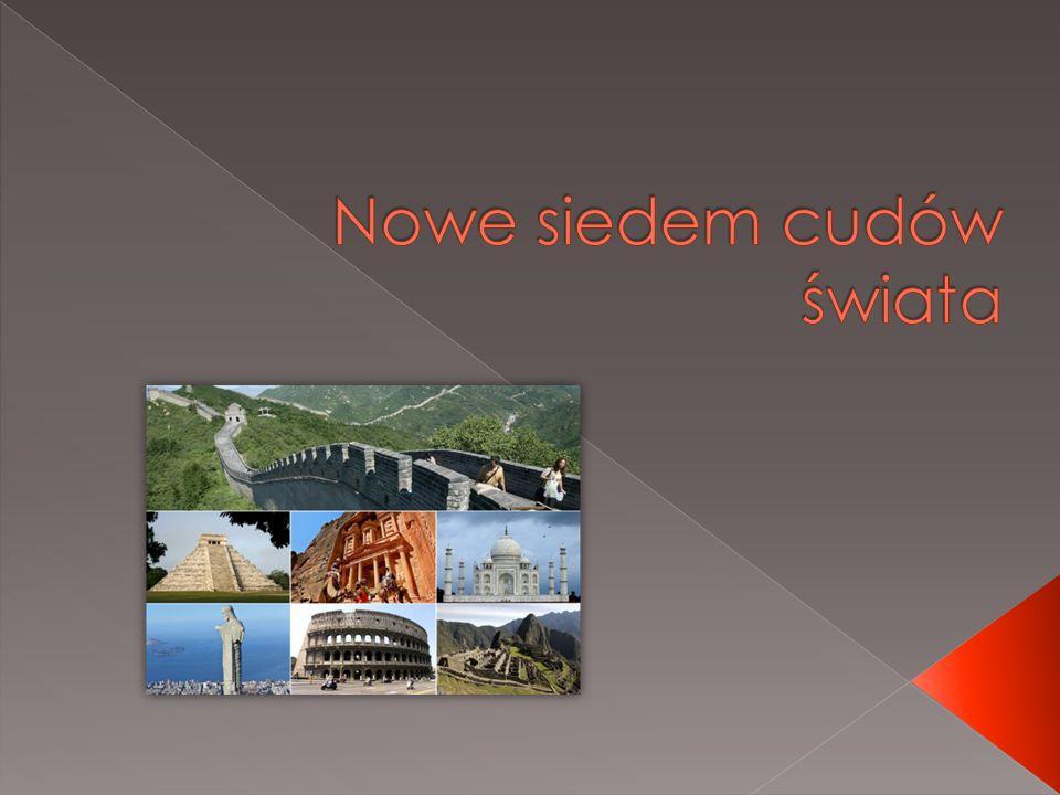 Siedem nowych cudów świata – proponowana wersja współczesnej listy siedmiu cudów świata, której tworzeniem zajęła sięszwajcarska firma New Open World Corporation (NOWC).