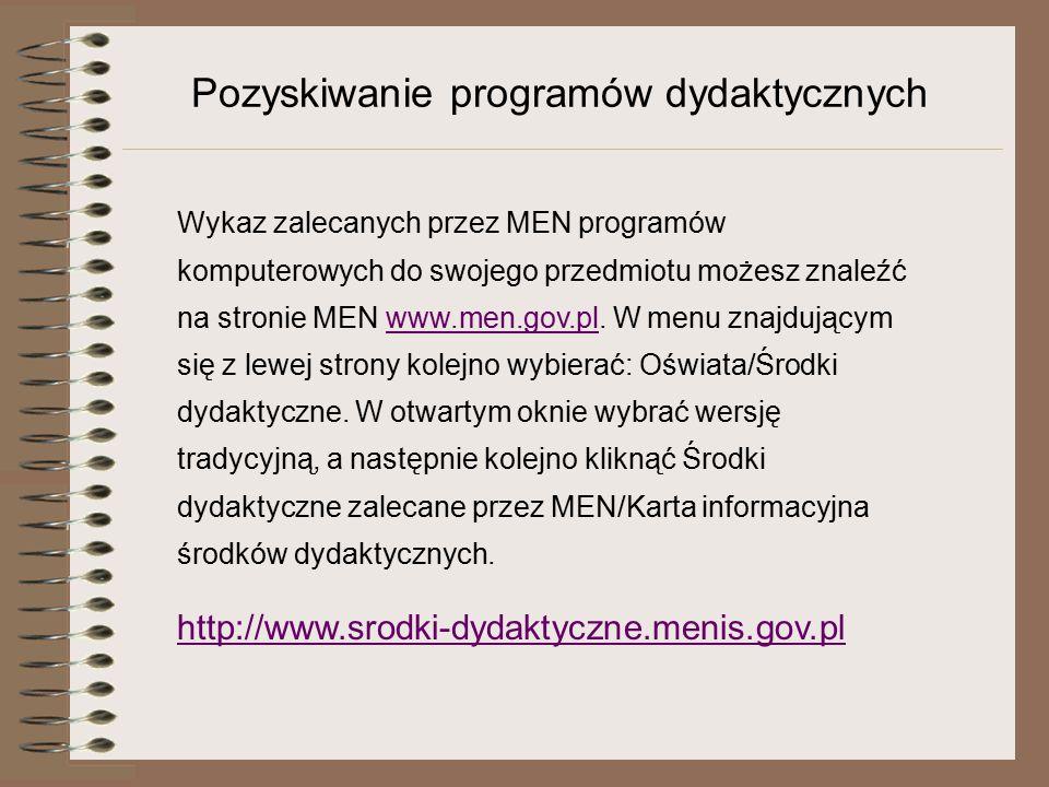 """Portale edukacyjne """"Internetowy publikator edukacyjny : www.ipe.civ.plwww.ipe.civ.pl """"Literka : www.literka.plwww.literka.pl """"Komputer w Szkole : www.oeiizk.edu.plwww.oeiizk.edu.pl """"Interklasa : www.interklasa.plwww.interklasa.pl """"Eduseek : www.eduseek.ids.plwww.eduseek.ids.pl """"Szkoła.net : www.szkola.plwww.szkola.pl """"Gimnazjum : www.gimnazjum.plwww.gimnazjum.pl """"Liceum : www.liceum.plwww.liceum.pl """"Profesor : www.profesor.plwww.profesor.pl """"Matura.pl :www.matura.plwww.matura.pl"""
