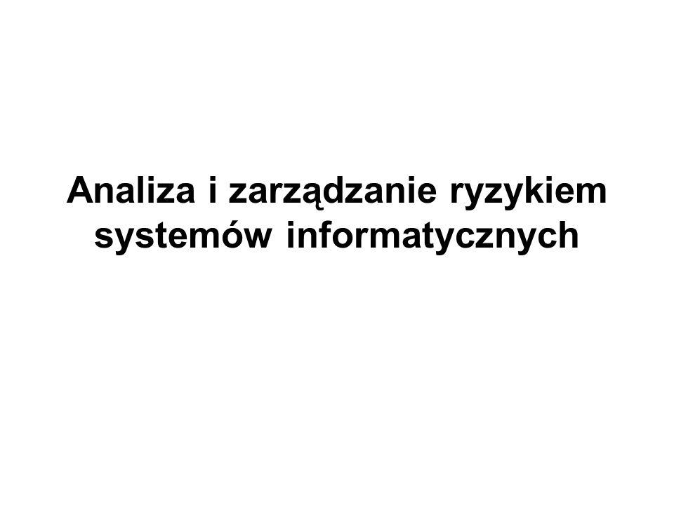 Analiza i zarządzanie ryzykiem systemów informatycznych
