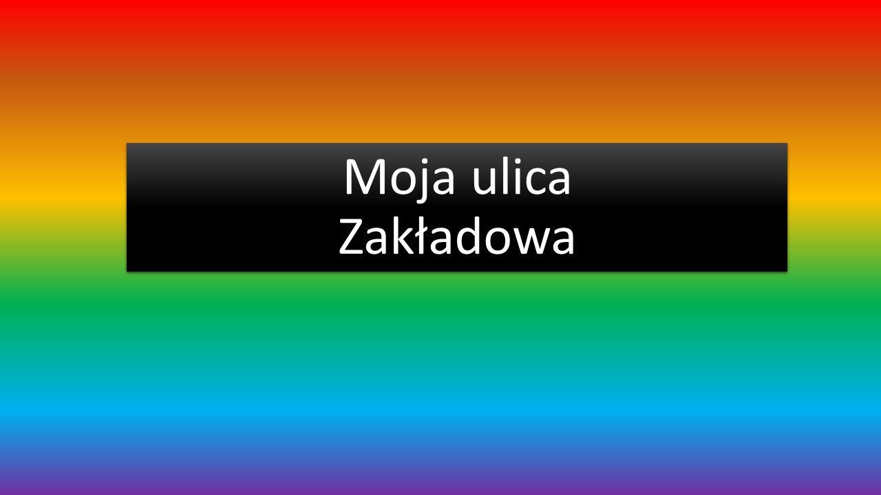 Położenie Ulica Zakładowa rozpoczyna się spory kawałek za Augustówką A kończy skrzyżowaniem z ulicą Przylesie