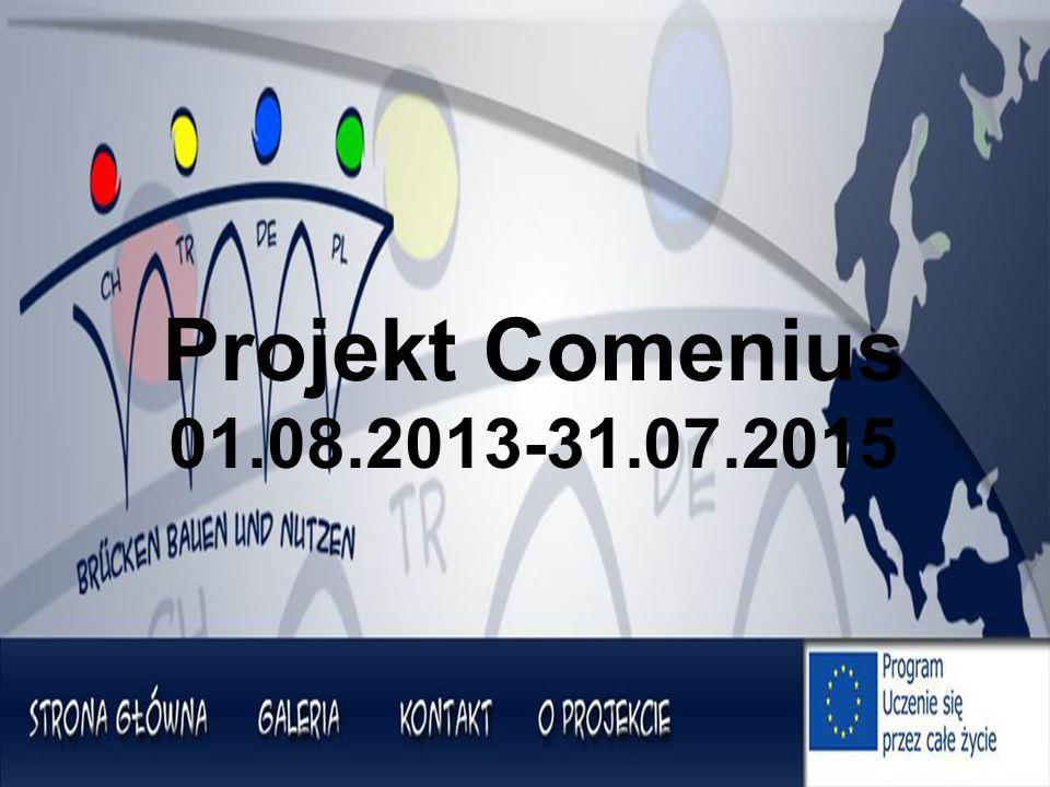 Projekt Comenius 01.08.2013-31.07.2015