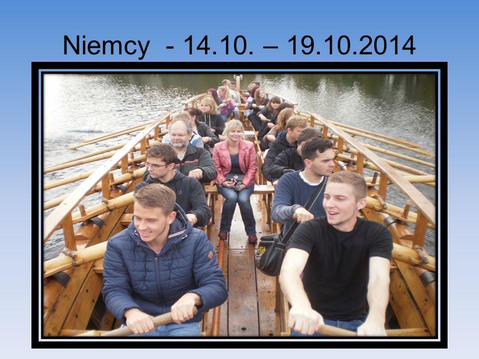 Niemcy - 14.10. – 19.10.2014