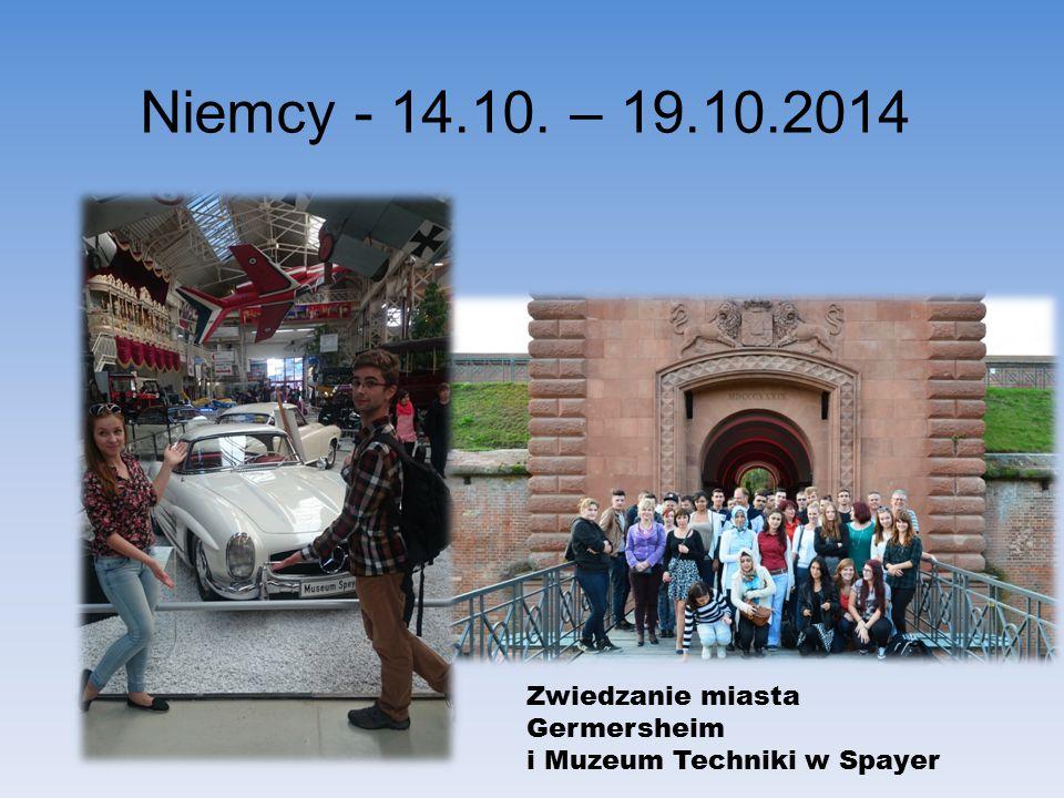 Zwiedzanie miasta Germersheim i Muzeum Techniki w Spayer