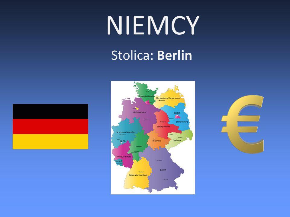 Niemcy – najważniejsze informacje 1.Niemcy są państwem założycielskim wspólnot europejskich (1957 r.) przekształconych w Unię Europejską na mocy traktatu z Maastricht w 1993 r.