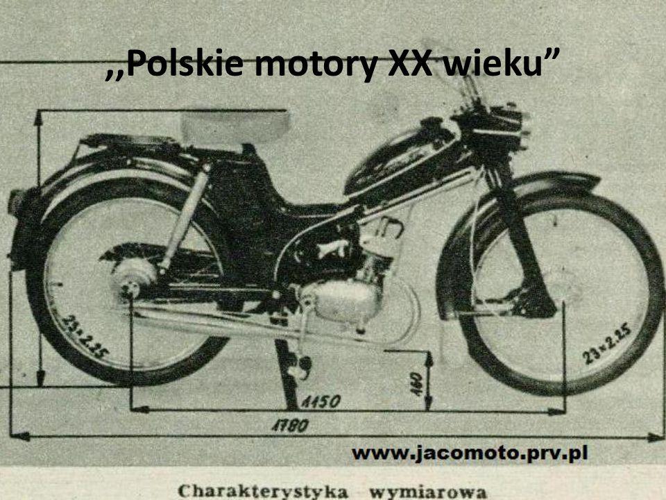 """,,Polskie motory XX wieku"""""""