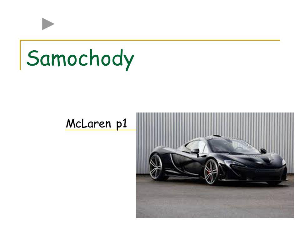 Streszczenie Mclaren P1 2 silniki Silnik Spalinowy V8 Pojemność 37,9 l Silnik Elektryczny Moc: 176 KM Łączna moc: 903KM Prędkość maksymalna: 393 km/h