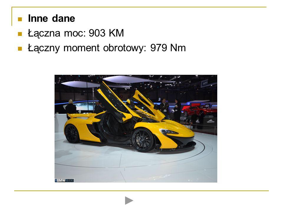 Stylistyka Z tyłu umieszczono spoiler, który wysuwa się przy dużych prędkościach i poprawia aerodynamikę pojazdu.