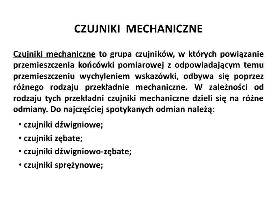 Józef Zawada, PŁ OPTIMETR PROJEKCYJNY Podstawowe dane metrologiczne: wart.