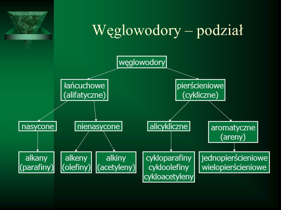 Węglowodory aromatyczne benzen – C 6 H 6 Różnicowanie zatrucia ostrego: - upojenie alkoholowe, - diagnostyka zaburzeń świadomości, Różnicowanie zatrucia przewlekłego: - pancytopenie o innej etiologii i idiopatyczne, - inne białaczki - polineuropatie