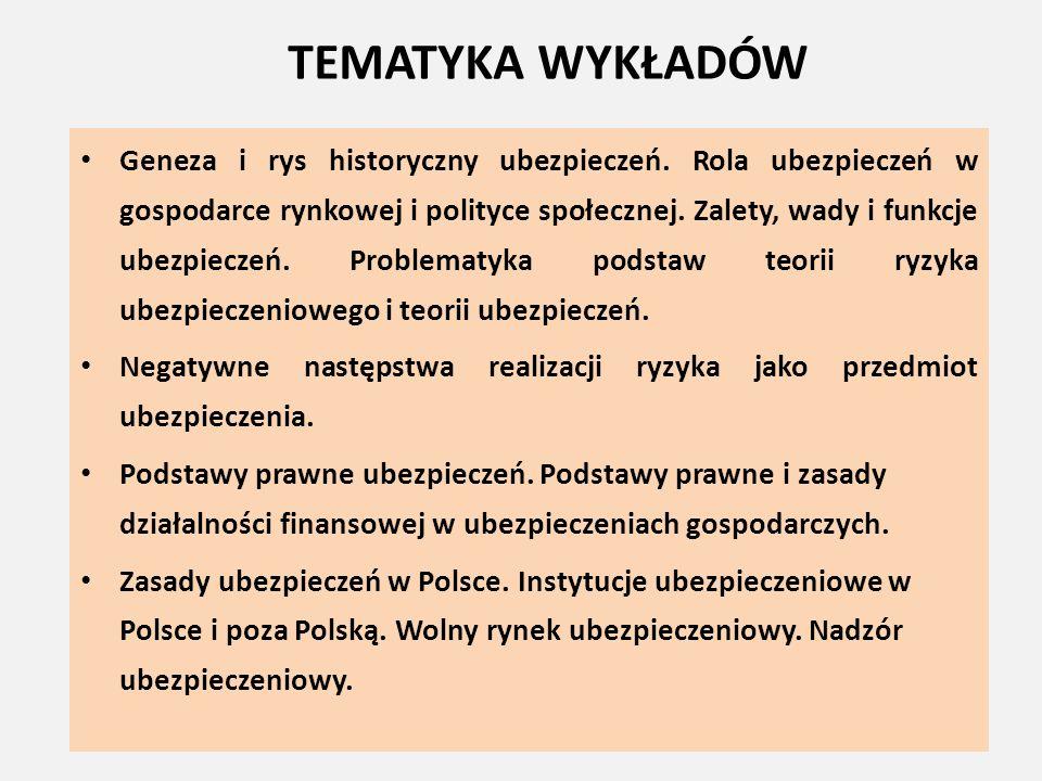 POLSKA IZBA UBEZPIECZEŃ (PIU) Instytucja samorządu gospodarczego Posiadająca osobowość prawną instytucja ubezpieczeniowego samorządu gospodarczego, zrzeszająca wszystkie działające w kraju zakłady ubezpieczeń na zasadzie obowiązkowości.